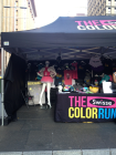 Color Run collection point - Martin Place to pick up pack - T-shirt, Headband, Number, Wristband, Color Pack for Finish Line