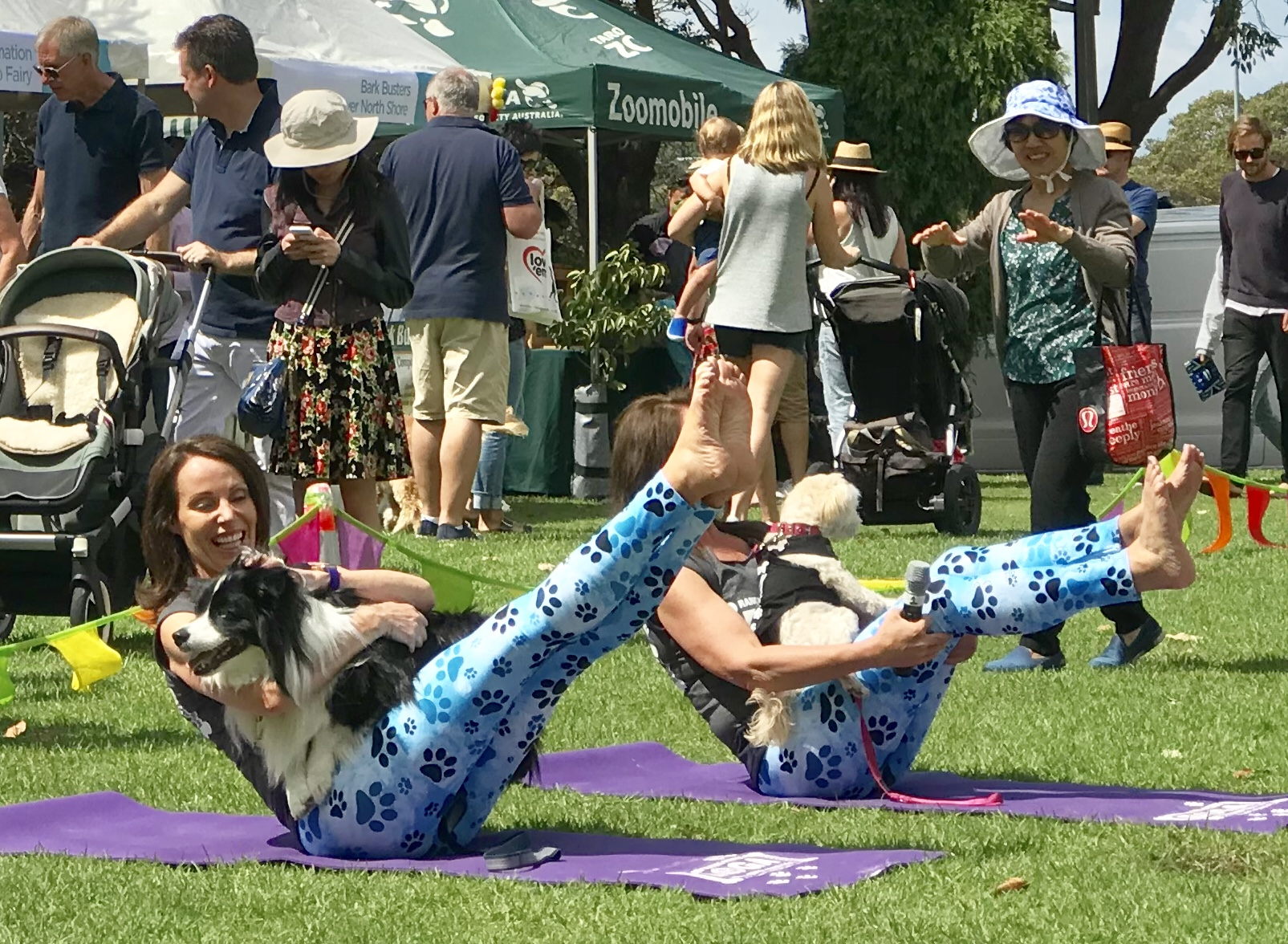 Dog Lovers Show 2019 Melbourne & Sydney - DOGA with Rancan Sisters